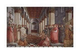 The Funeral of Saint Stephen Giclee Print by Filippo Lippi