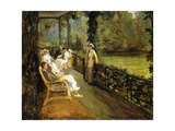 The Veranda, 1912 Giclee Print by Sir John Lavery