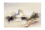 Castle Butte, Green River, Wyoming, 1894 Giclee Print by Thomas Moran