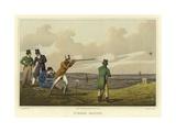 Pigeon Match Giclee Print by Henry Thomas Alken