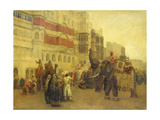 A Fete Day at Bekanir-Beloochistan, Bekanir Giclee Print by Edwin Lord Weeks