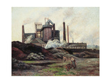 The Factory, 1898 Giclee Print by Maximilien Luce