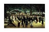 Le Bal Public, 1880 Giclee Print by Jean Béraud