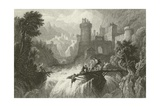 The Mountain Torrent Giclee Print by William Purser