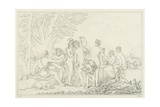The Judgement of Paris Giclee Print by William Etty