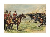 King George V Reviewing His Troops at Aldershot Giclee Print by Henry Payne