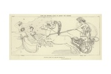 Juno and Minerva Going to Assist the Greeks Giclee Print by John Flaxman
