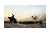 The Syrian Shepherd, 1865 Wydruk giclee autor Jean Leon Gerome
