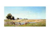 The Durance Valley, 1867 Giclee Print by Paul Camille Guigou