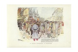 An Artist's Wanderings, at Marseilles Giclee Print by Phil May