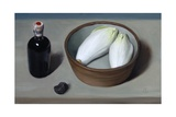 Chicory, Truffle and Balsamic Vinegar, 2013 Giclee Print by James Gillick