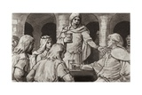 Walteoff Enticed to Treason Giclee Print by Ralph Bruce