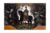 Le Chevalier Normand, C.1932 Giclee Print by Francois-Louis Schmied