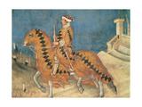 Guidoriccio Da Fogliano Giclee Print by Simone Martini
