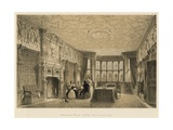 Drawing Room, Crewe Hall, Cheshire Giclee Print by Joseph Nash