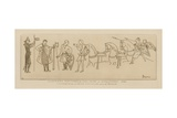 Norman Soldiers of William the Conqueror, 1066 Giclee-trykk av Raphael Jacquemin