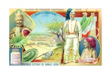 Colonies of the European Powers - Italy, 1910 Giclée-tryk