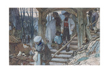 The Christening Gate in Lausanne, C.1861 Giclee Print by Matthijs Maris