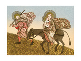 Flight into Egypt II Giclee Print by Gillian Lawson
