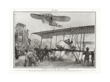 Near Accident at Hendon Aerodrome, 1913 Giclee Print by Addison Thomas Millar