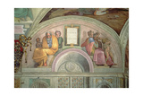 Jacob and Joseph, Sistine Chapel Giclee Print