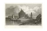 Tower Near Andernach Giclee Print by William Tombleson