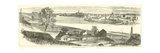 Fredericksburg, from Falmouth, November 1862 Giclee Print