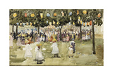 Central Park, New York City, July 4Th, C.1900-03 Giclee Print by Maurice Brazil Prendergast