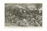 A Highland Charge Near Ypres, World War I Giclee Print by Frank Dadd