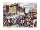 The Fall of the Bastille Giclee Print by Mike White