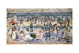 Low Tide, Revere Beach, C.1910-11 Giclee Print by Maurice Brazil Prendergast