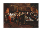 Belshazzar's Feast, C.1610 Giclee Print by Frans II the Younger Francken