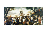 The Triumph of Love Giclee Print by Mattia Preti