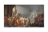The Death of Julius Caesar, 1805-06 Giclee Print by Vincenzo Camuccini