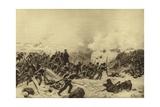 Siege of Sebastopol, 1854-1855 Giclee Print by Henri-Louis Dupray