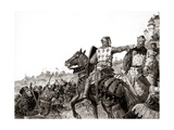 King Henry III and Simon De Montfort Giclee Print by Kenneth John Petts