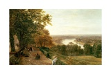 Richmond Hill, London Giclee Print by George Vicat Cole
