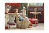 A Mother's Joy Giclee Print by Guglielmo Zocchi