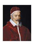Portrait of Pope Clement X Giclee Print by Il Baciccio