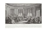The Concert Giclee Print by Augustin De Saint-aubin