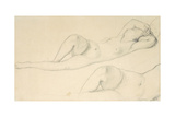 A Reclining Female Nude Giclee Print by Jean-Auguste-Dominique Ingres