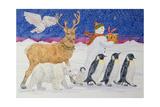 A Present for Santa Giclee Print by Catherine Bradbury