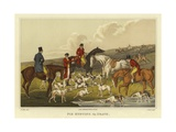 Fox Hunting, the Death Giclee Print by Henry Thomas Alken