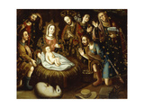 Adoration of the Shepherds Giclee Print by Gaspar Miguel de Berrio