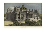 The Reichstag Building in Berlin Giclee Print