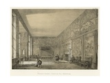 Presence Chamber, Hardwicke Hall, Derbyshire Giclee Print by Joseph Nash