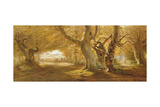 A Wooded Landscape, 1887 Giclee Print by Andrew Mccallum