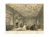 Drawing Room, Chastleton, Oxon Giclee Print by Joseph Nash