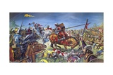 The Battle of Bannockburn Giclee Print by Mike White