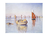 Concarneau, Quiet Morning, 1891 Impression giclée par Paul Signac